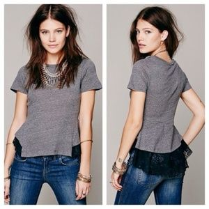 Free People Tops - NWT Free People Tulip Lace Hem